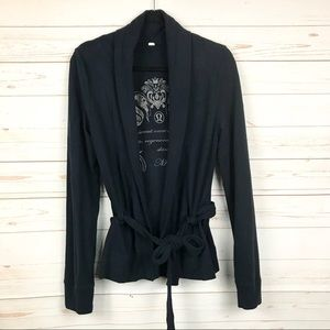lululemon athletica Dance Wrap Sweater Cardigan M
